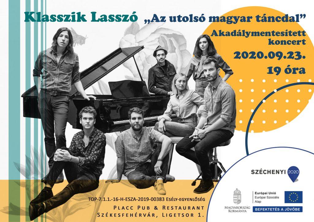 Klasszik Lasszó - Akadálymentesített koncert